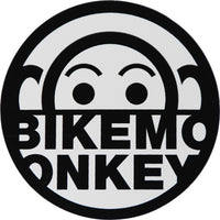 Bike Monkey Vinyl Sticker 3""