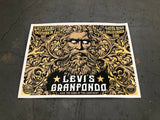Previously Unreleased and Unseen Levi's GranFondo Event Poster