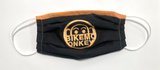 Bike Monkey Embroidered Masks