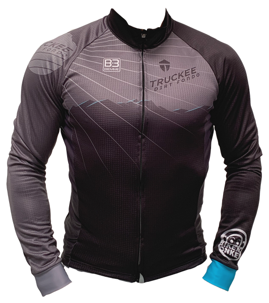 Truckee Dirt Fondo Biemme Long Sleeve Jersey - Men's