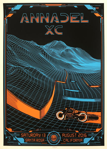 "Rare Annadel ""Legacy"" Race poster by Fred Strucholz"