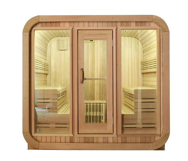 The Cube Sauna - infinityhottubs