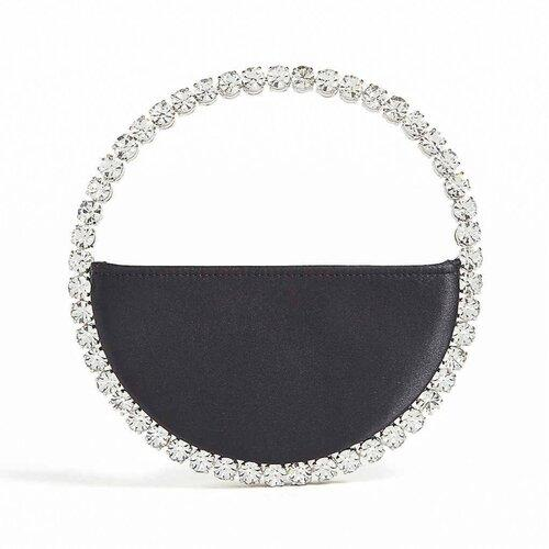 Eternity Black Luxury Designer Clutch