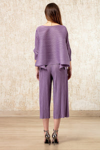 Chic Co-ordinated Set - Purple