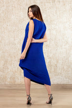 Load image into Gallery viewer, Tie Up Dress - Royal Blue