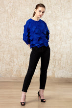 Load image into Gallery viewer, A-Poc Top - Cobalt Blue