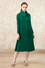 Load image into Gallery viewer, Serena Sassy Scarf Dress - Green