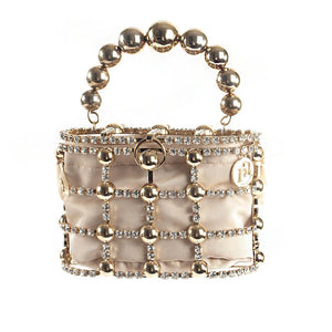 Holli Clutch Bag - Gold