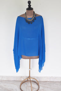 Electric Blue Cape