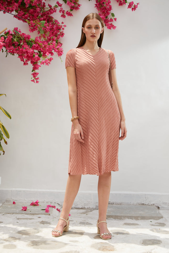Blair Brag Me Dress - Salmon Pink