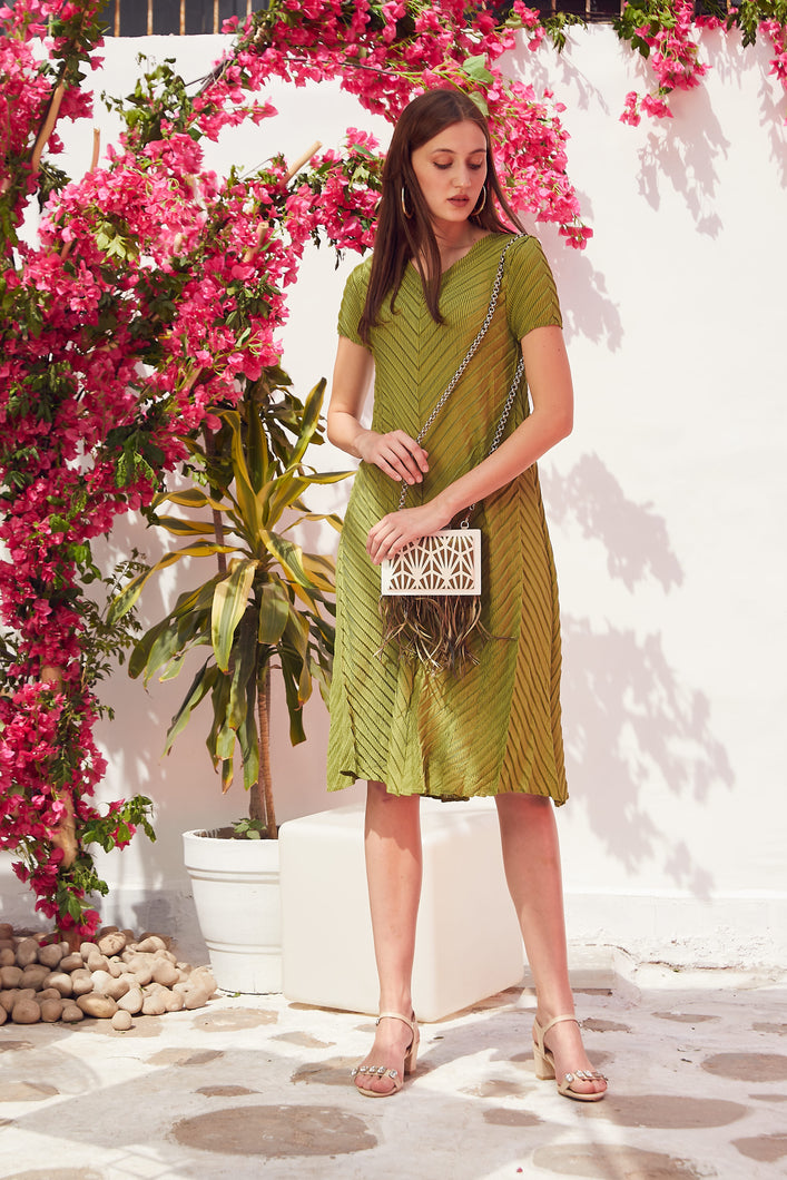 Blair Brag Me Dress - Spring Green