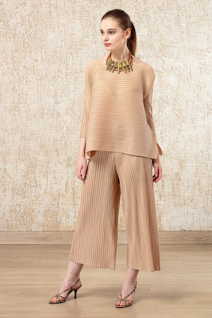 Chic Co-ordinated Set - Beige