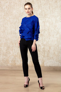 A-Poc Top - Cobalt Blue