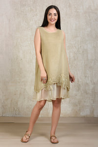 Essential Linen Dress - Beige