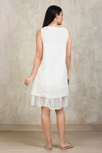 Load image into Gallery viewer, Essential Linen Dress - White