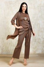 Load image into Gallery viewer, 3 Piece Co-ord Set - Beige
