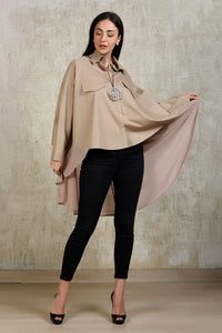 Up down Shirt - Beige