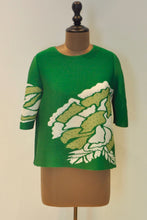 Load image into Gallery viewer, Embellished Swarski Top - Green
