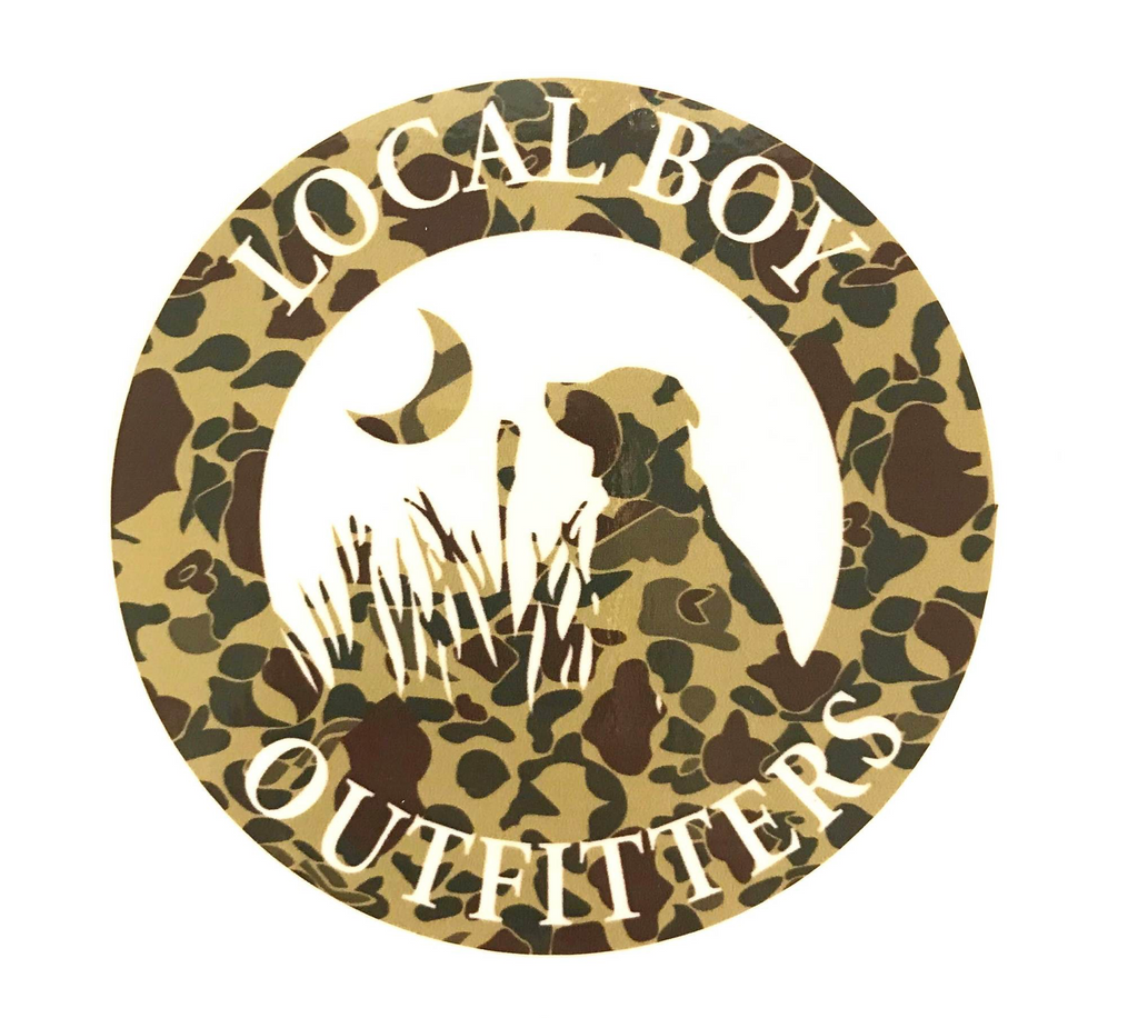 Local Boy Round Decal Camo