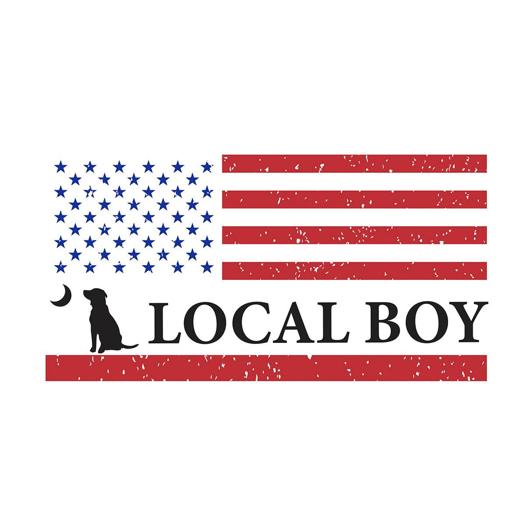 LOCAL BOY FLAG DECAL