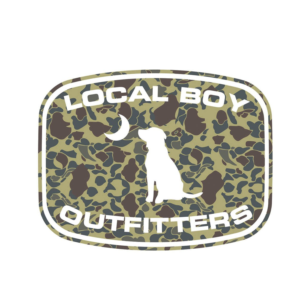 LOCAL BOY CAMO DECAL