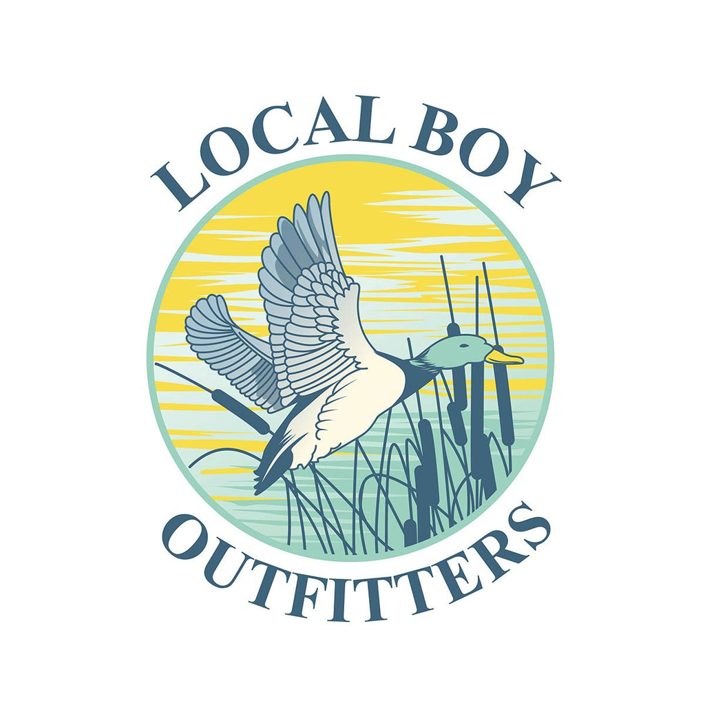 LOCAL BOY MALLARD DECAL