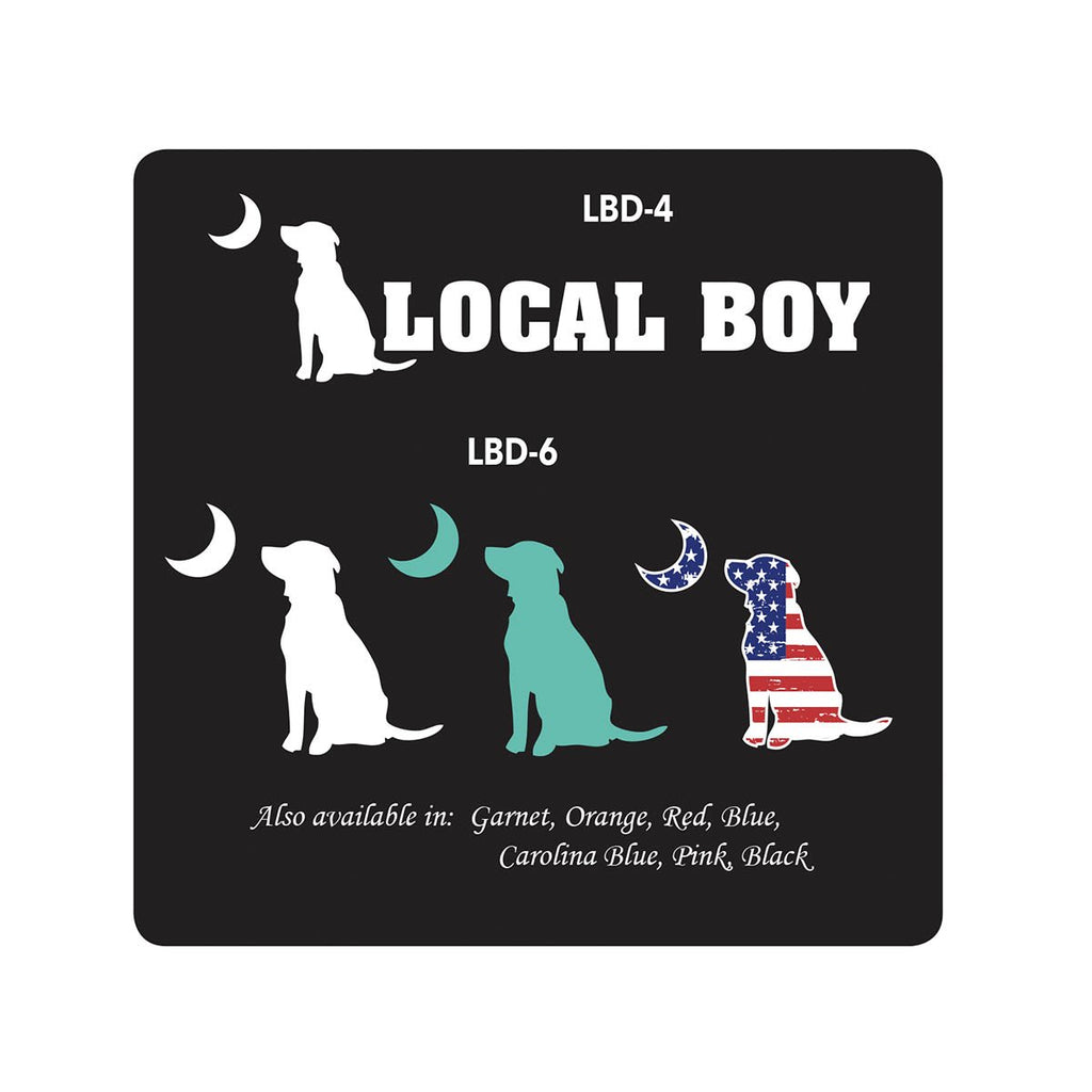LOCAL BOY DOG DECAL