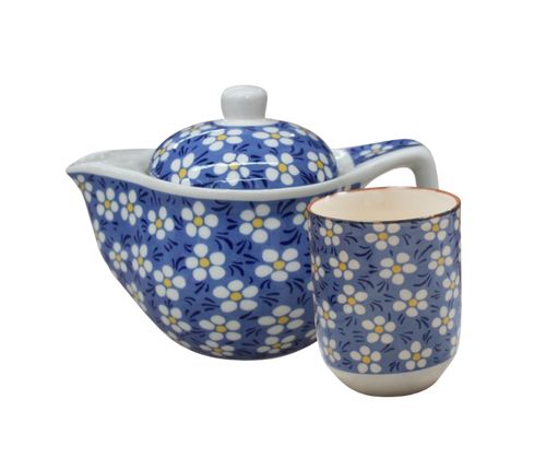 Sweet Daisy Tea Set for 1