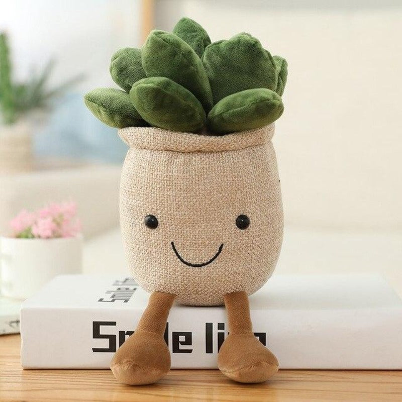 Buddy Moonstones Flower Pot Plush - Kawaiies - Adorable - Cute - Plushies - Plush - Kawaii