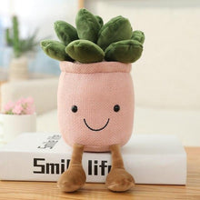Load image into Gallery viewer, Buddy Moonstones Flower Pot Plush - Kawaiies - Adorable - Cute - Plushies - Plush - Kawaii