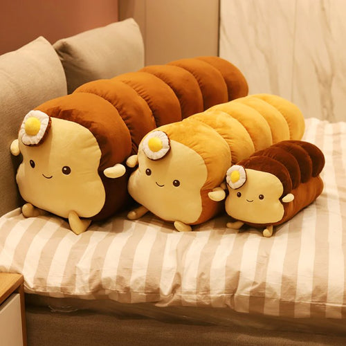 Benedict Bread - Loaf Edition - Kawaiies - Adorable - Cute - Plushies - Plush - Kawaii