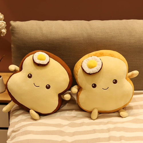 Benedict Bread - Slice Edition - Kawaiies - Adorable - Cute - Plushies - Plush - Kawaii