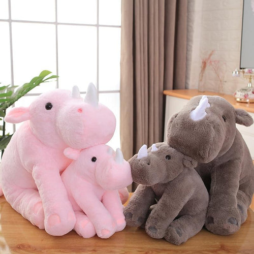 Bobo and Coco the Rhinos - Kawaiies - Adorable - Cute - Plushies - Plush - Kawaii
