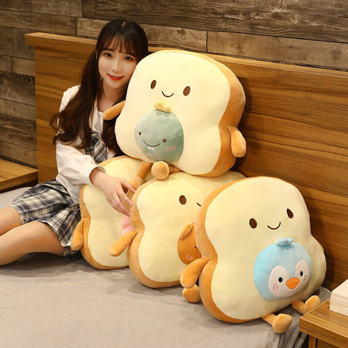 Breadie Toastie Bestie - Slice Collection - Kawaiies - Adorable - Cute - Plushies - Plush - Kawaii