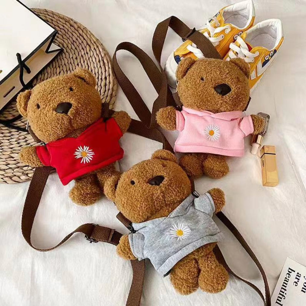 Brown Bear Bag - Kawaiies - Adorable - Cute - Plushies - Plush - Kawaii