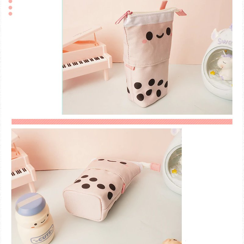 Bubble Tea Telescopic Pencil Case à La Mode - Kawaiies - Adorable - Cute - Plushies - Plush - Kawaii