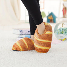 Load image into Gallery viewer, Butter Bread Plush Slippers - Kawaiies - Adorable - Cute - Plushies - Plush - Kawaii