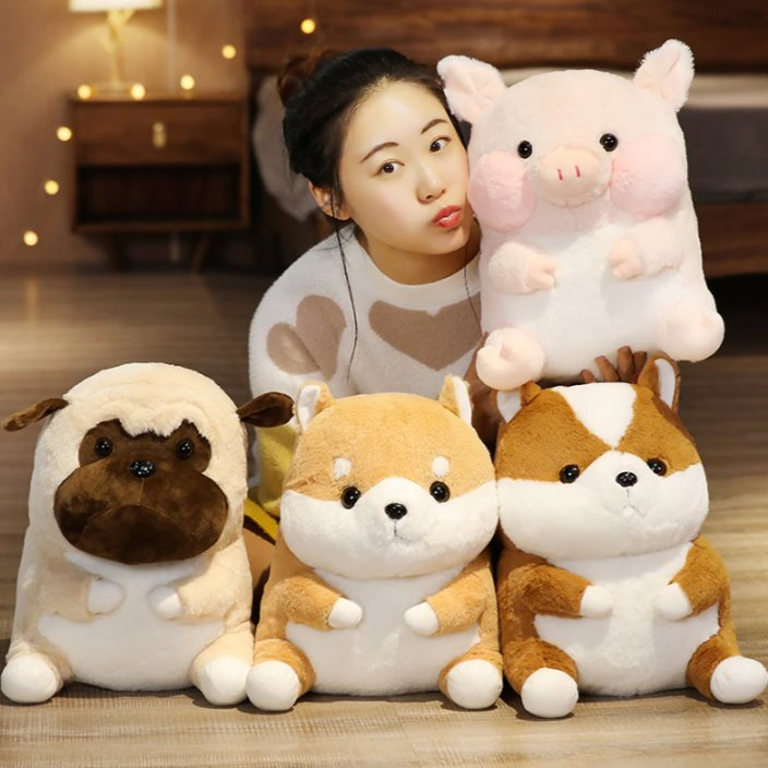 Chubby Animals Backpack - Kawaiies - Adorable - Cute - Plushies - Plush - Kawaii
