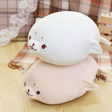Load image into Gallery viewer, Cil The Squishy Seal - Kawaiies - Adorable - Cute - Plushies - Plush - Kawaii