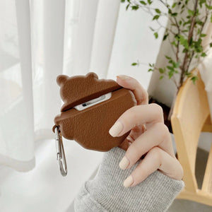 Cookie Bear Airpods Case (1&2&Pro) | NEW - Kawaiies - Adorable - Cute - Plushies - Plush - Kawaii