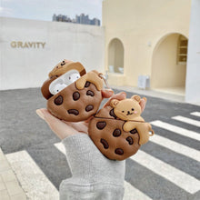 Load image into Gallery viewer, Cookie Bear Airpods Case (1&2&Pro) | NEW - Kawaiies - Adorable - Cute - Plushies - Plush - Kawaii