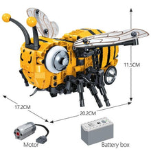 Load image into Gallery viewer, Bumblebee and Felix the Fly with Motors - Kawaiies - Adorable - Cute - Plushies - Plush - Kawaii
