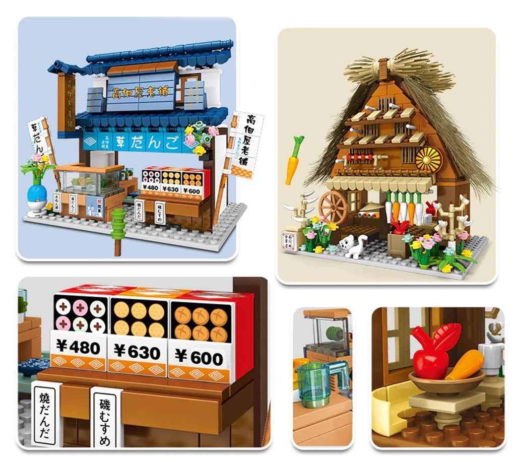Shirakawa-go Dori Street Japanese Stores - Kawaiies - Adorable - Cute - Plushies - Plush - Kawaii