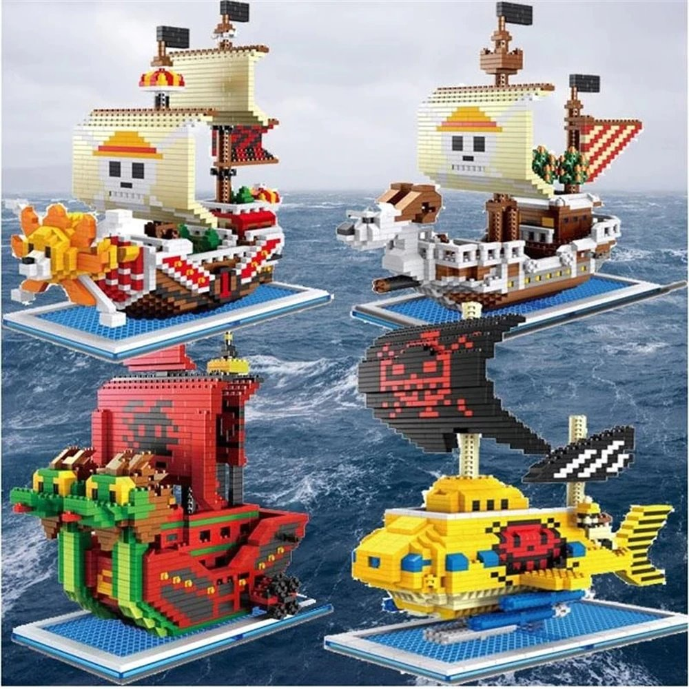 Cute Nano One Piece Pirate Ships | NEW - Kawaiies - Adorable - Cute - Plushies - Plush - Kawaii