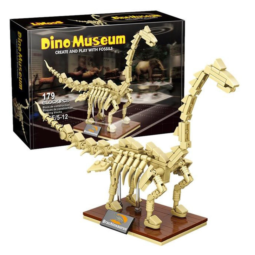 Dinosaur Fossil Skeletons Building Blocks - Kawaiies - Adorable - Cute - Plushies - Plush - Kawaii