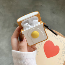 Load image into Gallery viewer, Egg Toast Airpods Case (1&2&Pro) - Kawaiies - Adorable - Cute - Plushies - Plush - Kawaii