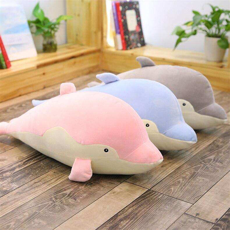 Fin, Bubbles and Chirp the Dolphin Pod - Kawaiies - Adorable - Cute - Plushies - Plush - Kawaii