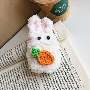 Fluffy Friends Airpods Case (1&2) - Kawaiies - Adorable - Cute - Plushies - Plush - Kawaii