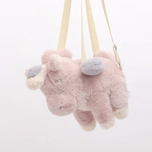 Fluffy Unicorn Backpack - Kawaiies - Adorable - Cute - Plushies - Plush - Kawaii