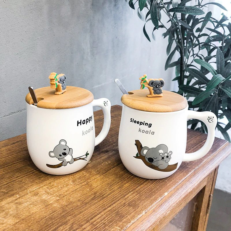 Forever Koala Ceramic Cup - Kawaiies - Adorable - Cute - Plushies - Plush - Kawaii